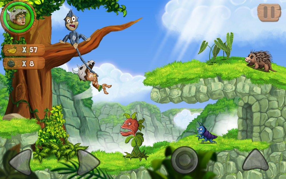 Скриншот Jungle Adventures 2 для Android