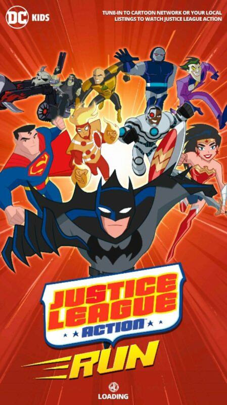 Скриншот Justice League Action Run для Android