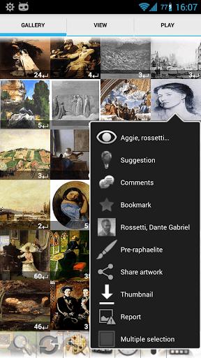 Скриншот Художественная галерея ErgsArt для Android