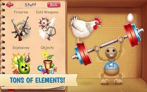 Скриншот Kick the Buddy для Android