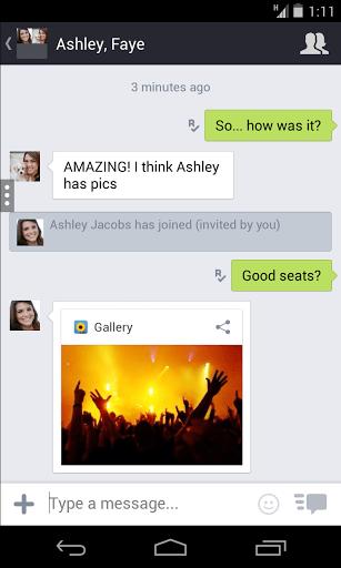 Скриншот Kik Messenger для Android