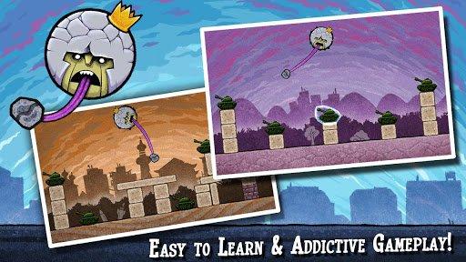 Скриншот King Oddball для Android