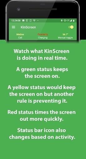 Скриншот KinScreen для Android