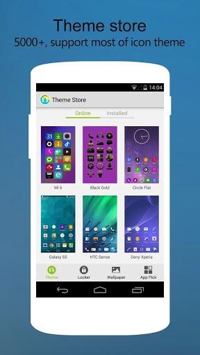 Скриншот KK Launcher Prime для Android