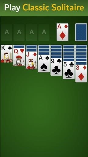 Скриншот Klondike Solitaire для Android