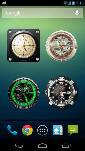 Скриншот Коллекция аналоговых часов для Android