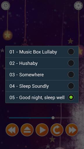 Скриншот Колыбельные: крепкий сон для Android