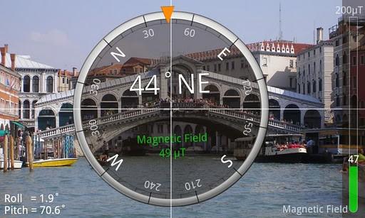 Скриншот Компас — Smart Compass для Android