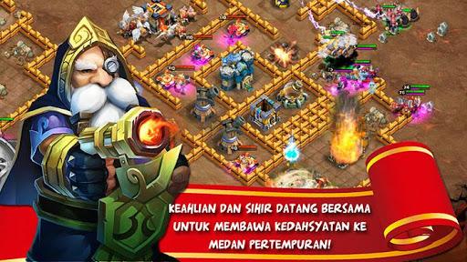 Скриншот Konflik Kastil : Castle Clash для Android