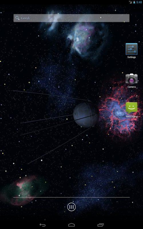 Скриншот Космические 3D для Android