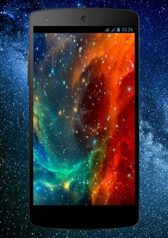 Скриншот Космос Живые Обои для Android