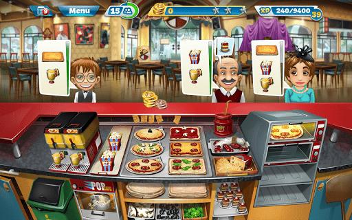 Скриншот Кухонная Лихорадка / Cooking Fever для Android