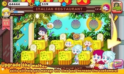 Скриншот Кулинарная воротила — Cooking для Android