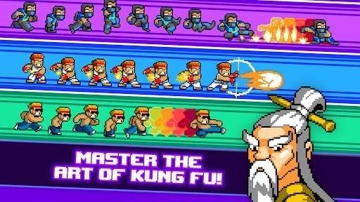 Скриншот Kung Fu Z для Android