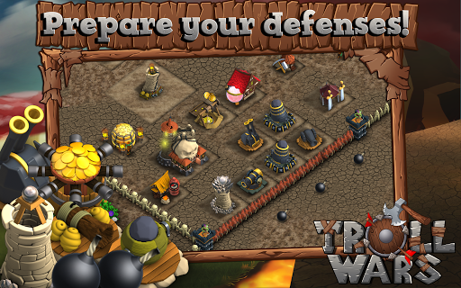 Скриншот Кузя — Troll Wars для Android