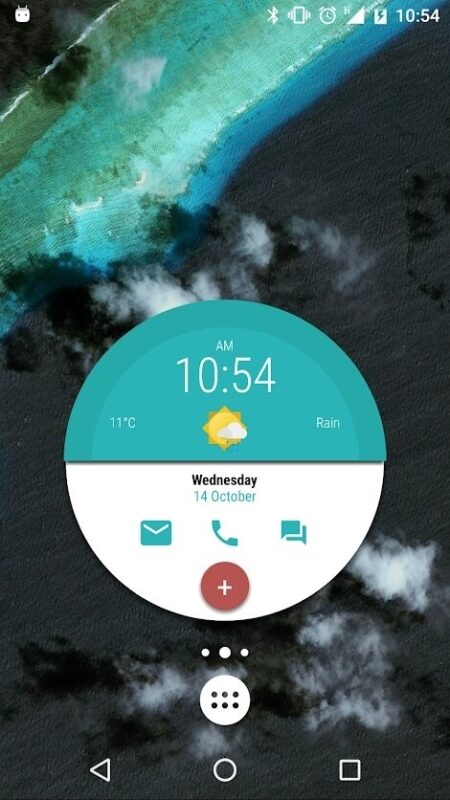 Скриншот KWGT Kustom Widget Maker для Android