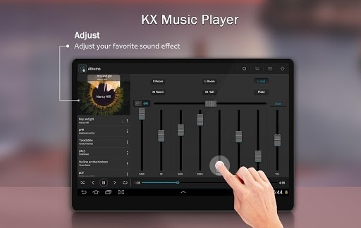 Скриншот KX Music Player для Android