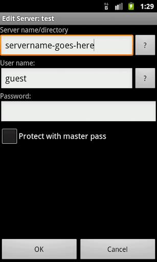 Скриншот LAN plugin for Total Commander для Android