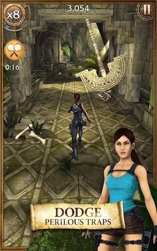 Скриншот Lara Croft: Relic Run для Android