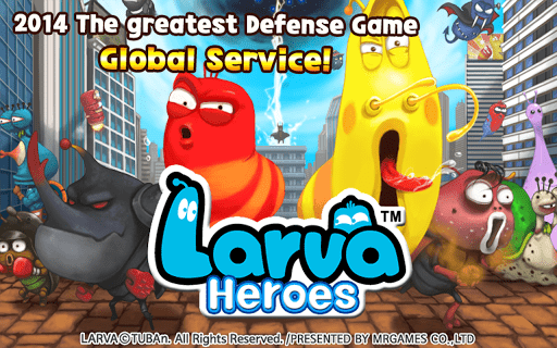 Скриншот Larva Heroes: Lavengers 2014 для Android