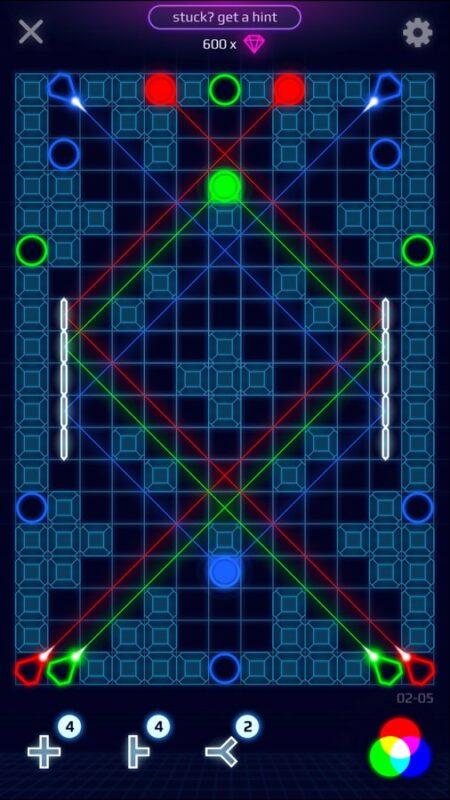 Скриншот Laser Dreams для Android