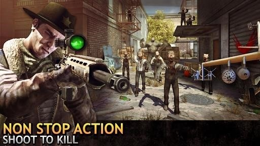 Скриншот Last Hope Sniper: Zombie War для Android