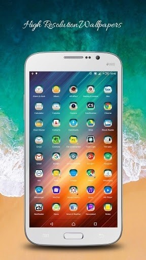 Скриншот Launcher for iOS PRO для Android