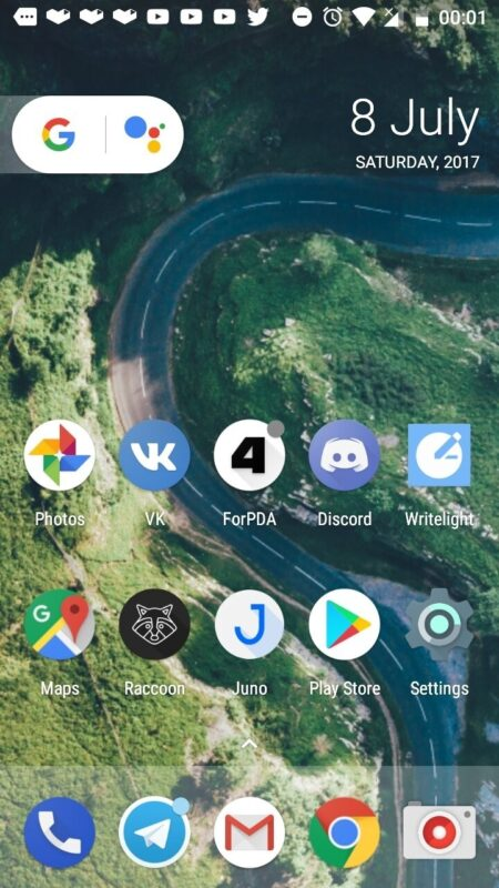 Скриншот Lawnchair Launcher для Android