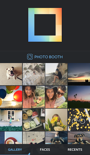Скриншот Layout from Instagram для Android