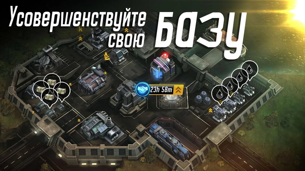 Скриншот League of War: Mercenaries для Android
