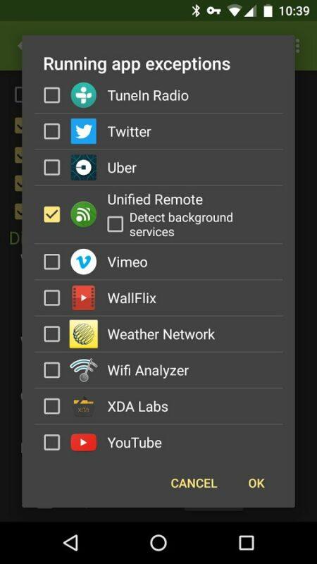 Скриншот LeanDroid для Android