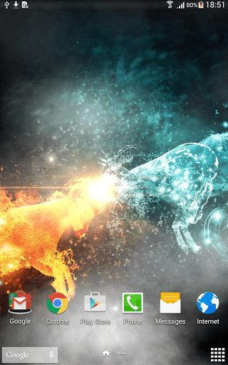 Скриншот Лед и Пламя для Android