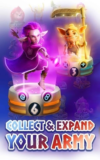 Скриншот Legend of Solgard для Android