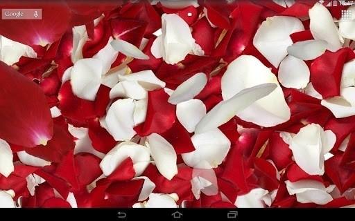 Скриншот Лепестки 3D живые обои для Android