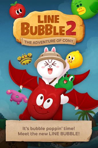 Скриншот LINE Bubble 2 для Android