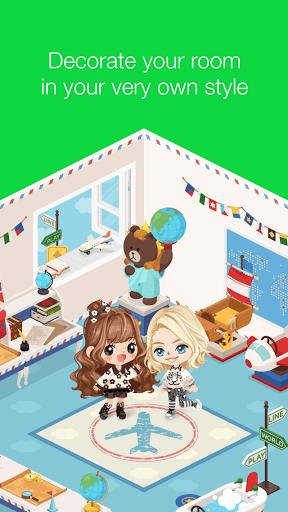 Скриншот LINE PLAY — Your Avatar World для Android
