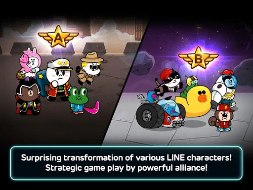 Скриншот LINE Rangers для Android