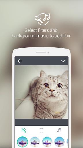 Скриншот LINE SnapMovie для Android