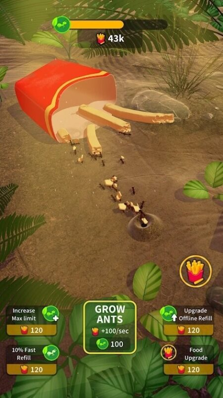 Скриншот Little Ant Colony Idle для Android