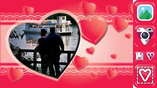 Скриншот Любовь Фото — Искусство Рамки для Android