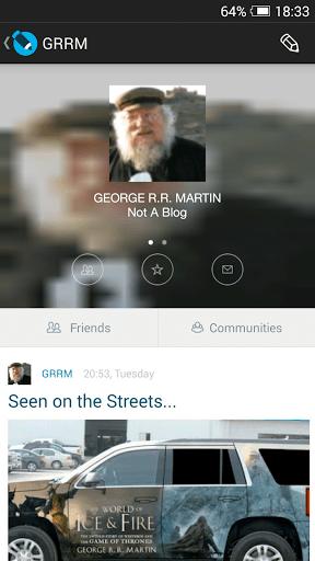 Скриншот LiveJournal для Android