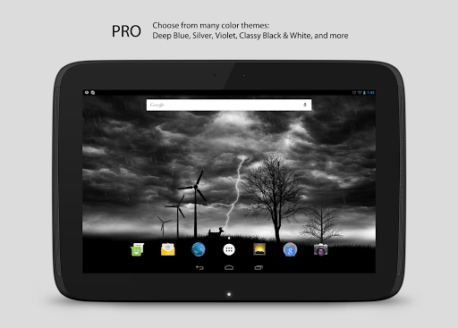 Скриншот Live Storm Pro Wallpaper для Android