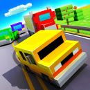 Blocky Cars: Traffic Rush для Андроид скачать бесплатно