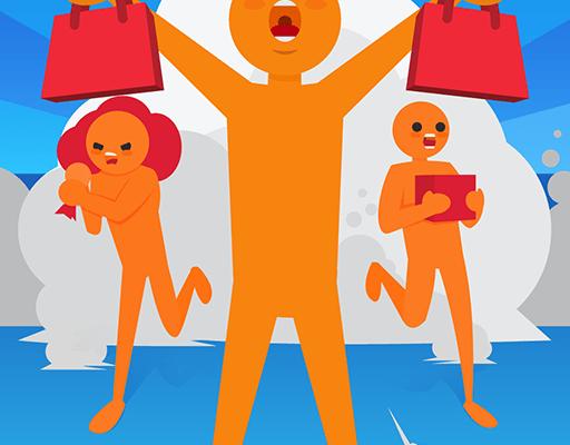 Crazy Shopping для Андроид скачать бесплатно
