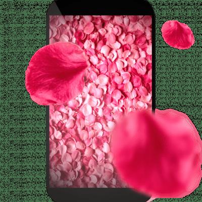 Лепестки 3D живые обои для Андроид скачать бесплатно