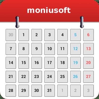 Moniusoft calendar для Андроид скачать бесплатно
