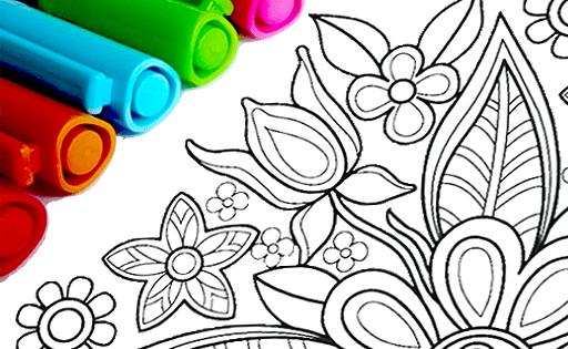 Раскраски Мандала для Андроид скачать бесплатно