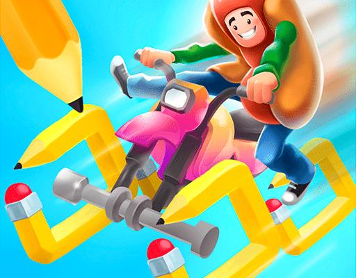 Scribble Rider для Андроид скачать бесплатно