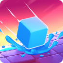 Splashy Cube: Color Run для Андроид скачать бесплатно