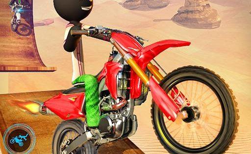Stickman Motocross для Андроид скачать бесплатно